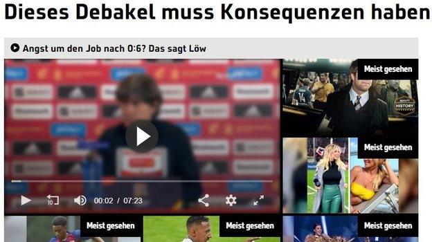 Sport1 подверг критике главного тренера немецкой команды. Фото Sport1