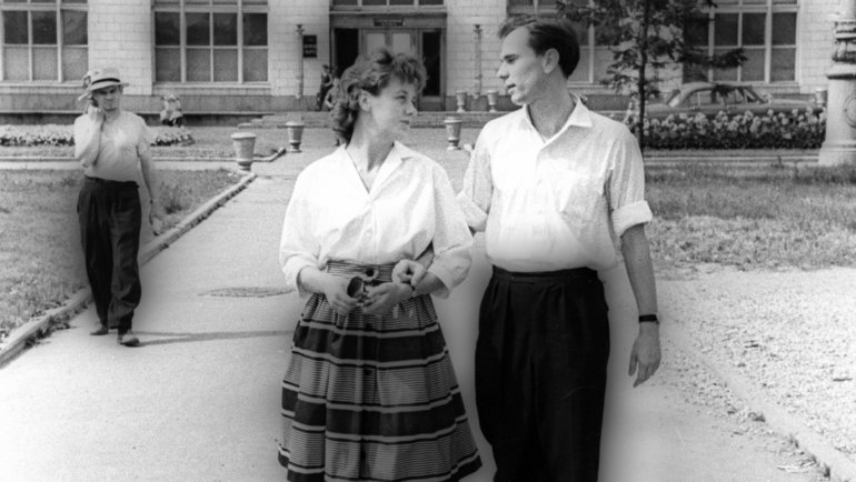 4августа 1960 года. Лидия иВалентин Ивановы. Фото Олег Неелов