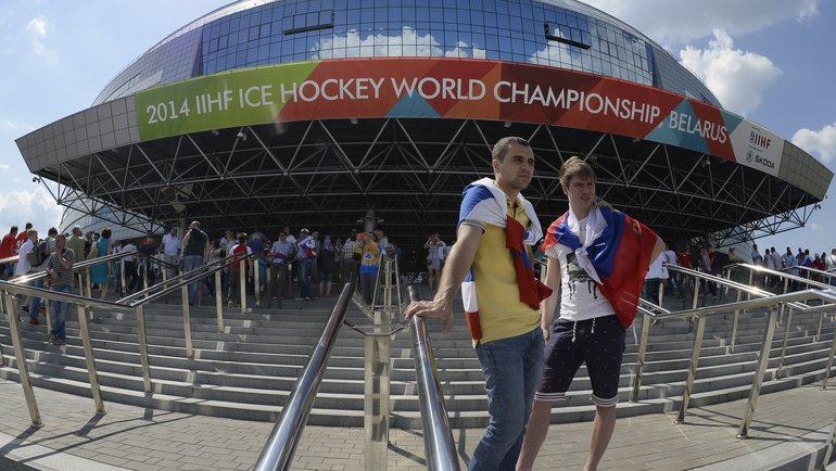 Чемпионат мира, который должен пройти встолицах Белоруссии иЛатвии, по-прежнему планируют провести всрок. Фото AFP