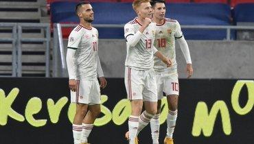 Венгрия обыграла Турцию ивышла вЛигу наций Aизгруппы России