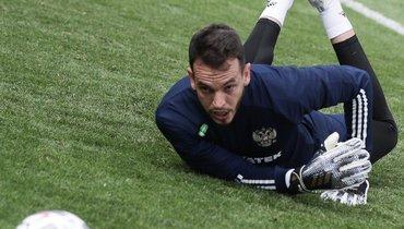 Депутат Госудумы призывал поддержать вратаря Гильерме, который пропустил четыре мяча отСербии