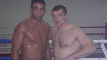 Мирко Кро Коп (справа) иФабрисио Вердум.