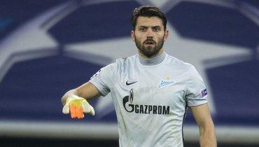 Лодыгин включил себя втоп-3 вратарей России. Голкипер— без клуба слета
