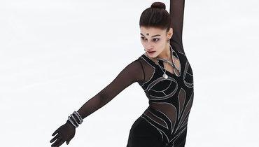 Самодурова без грубых ошибок исполнила короткую программу наэтапе «Гран-при» вМоскве