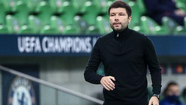 «УСафонова нет шансов сыграть против «Севильи». Мусаев— опобеде над «Тамбовом» ипредстоящей Лиге чемпионов