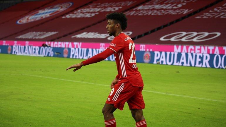 Кингсли Коман. Фото ФК «Бавария».