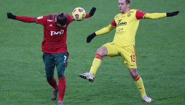 «Локомотив» вменьшинстве вырвал победу у «Арсенала» ипрервал серию изтрех поражений подряд вРПЛ