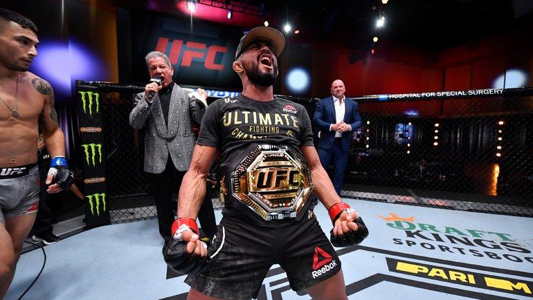 Дейвисон Фигейредо. Фото UFC