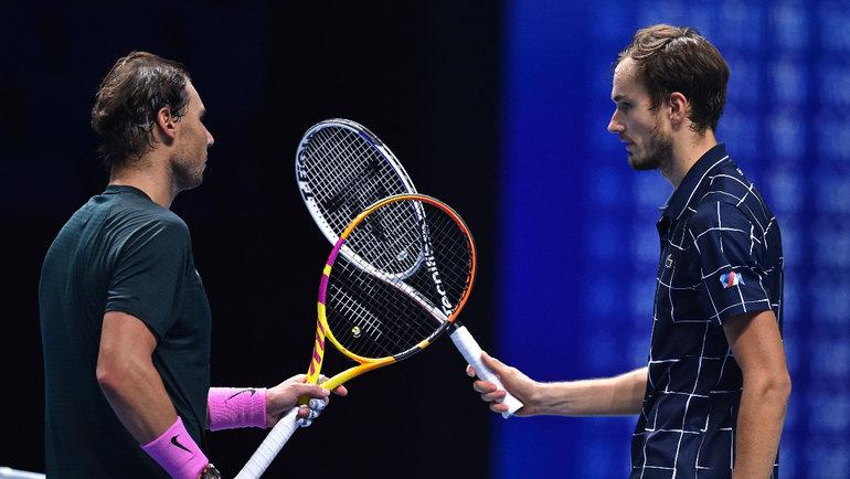 Медведев лишил Надаля мечты. Дотитула ATP Finals— один шаг