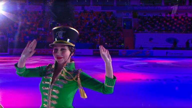 Елизавета Туктамышева. Фото скриншот Первого канала
