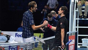 Видео чемпионского розыгрыша Медведева вфинале Итогового турнира ATP
