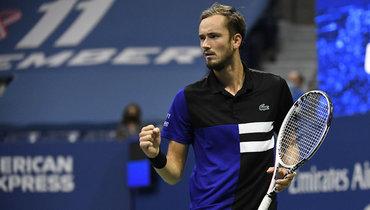 Медведев закончил сезон начетвертом месте рейтинга ATP