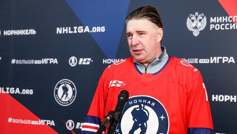 Алексей Касатонов. Фото Ночная хоккейная лига