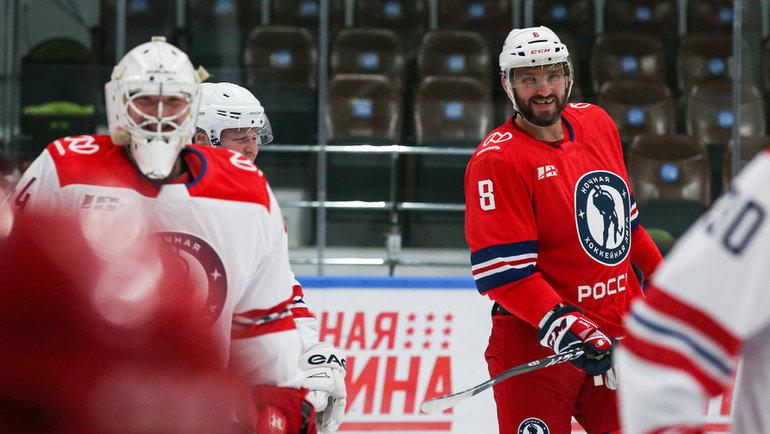 Александр Овечкин. Фото Ночная хоккейная лига