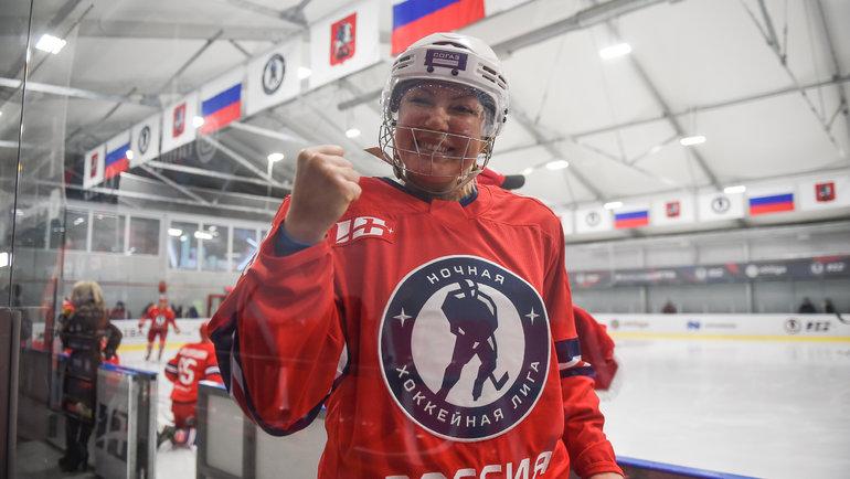 Наталья Рагозина. Фото Ночная хоккейная лига