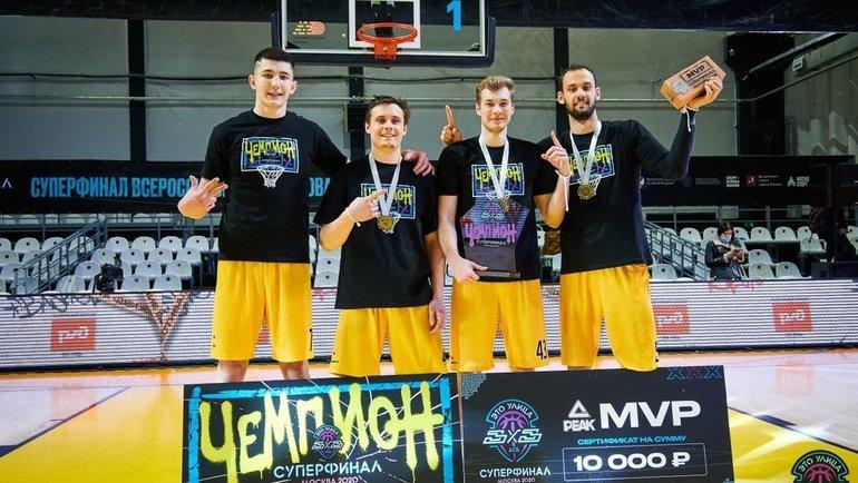 Команда изМосквы победила вфинале АСБ. Фото пресс-служба АСБ