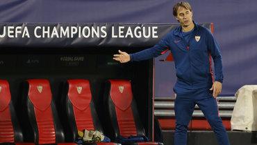 «С «Краснодаром» несыграют наши сильные футболисты». Лопетеги иЭскудеро— опредстоящем матче Лиги чемпионов