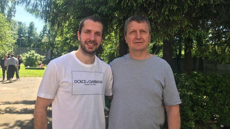 Геннадий Курдин (справа) иНикита Кучеров.