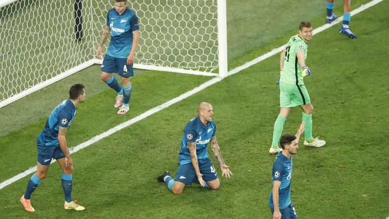 Футболисты «Зенита». Фото Reuters