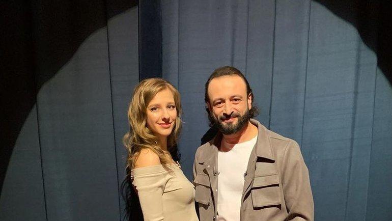 Елизавета Арзамасова и Илья Авербух. Фото Instagram