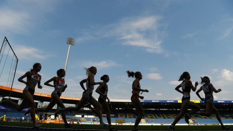Легкоатлетки. Фото AFP