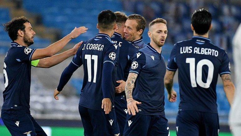 25ноября. Лиги чемпионов. «Лацио»— «Зенит»— 3:1. Фото Instagram