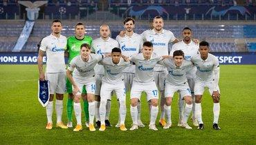 Футболисты «Зенита».