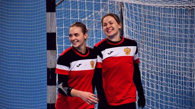 Дарья Дмитриева и Анна Седойкина. Фото ФГР