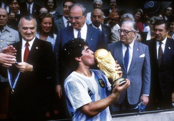 Диего Марадона. Фото Twitter