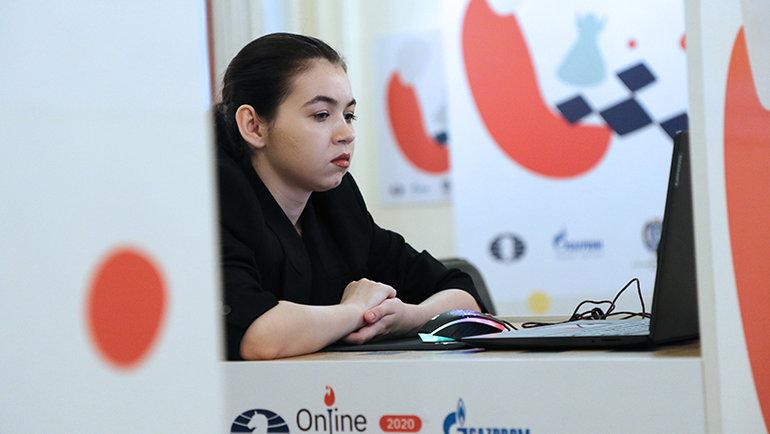 Александра Горячкина. Фото Леннарт Отес, Этери Кублашвили