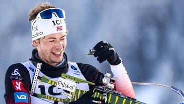 Норвежец Легрейд выиграл индивидуальную гонку вКонтиолахти, Логинов— 10-й