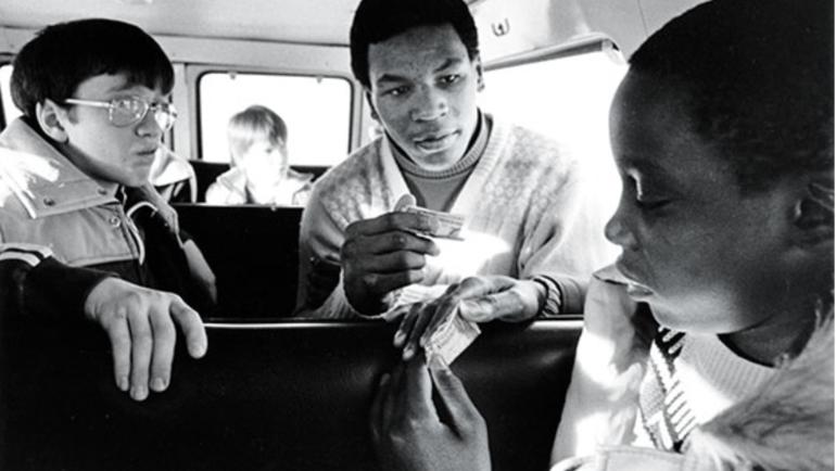 Майку Тайсону 14 лет. Фото Журнал New York