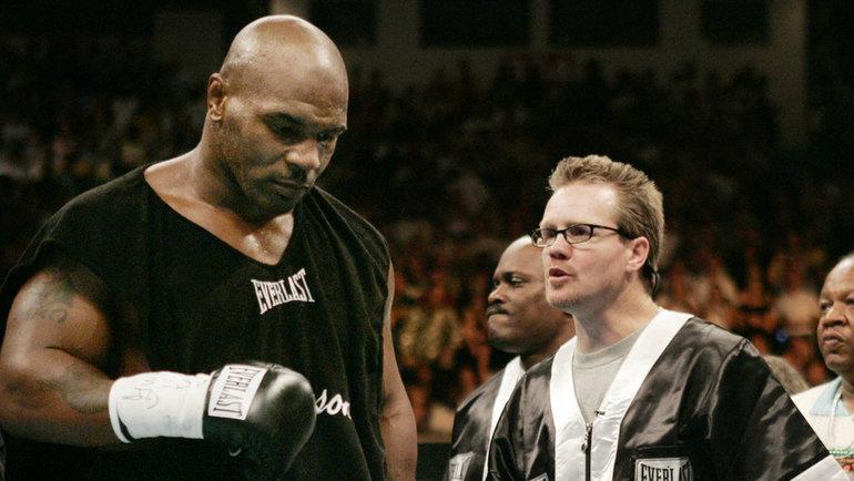 Фредди Роуч иМайк Тайсон. Фото Reuters