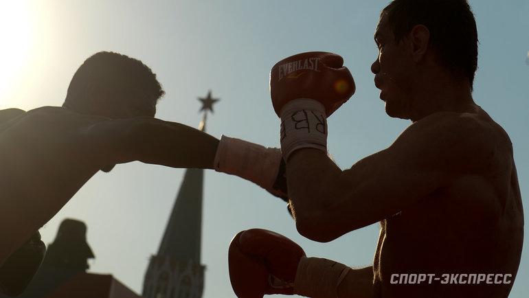 """Майк Тайсон иРой Джонс проведут реванш вМоскве? Фото Дарья Исаева, """"СЭ"""""""