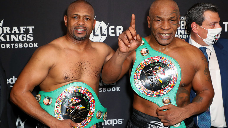 Рой Джонс иМайк Тайсон. Фото USA Today Sports