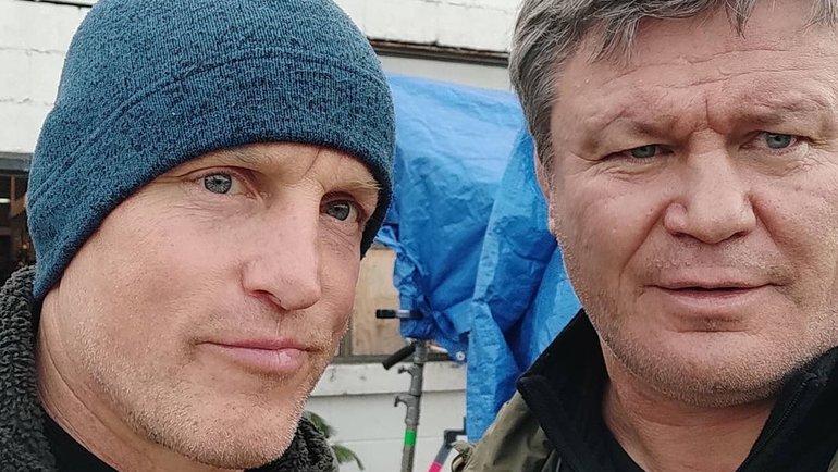 Вуди Харрельсон и Олег Тактаров. Фото Instagram