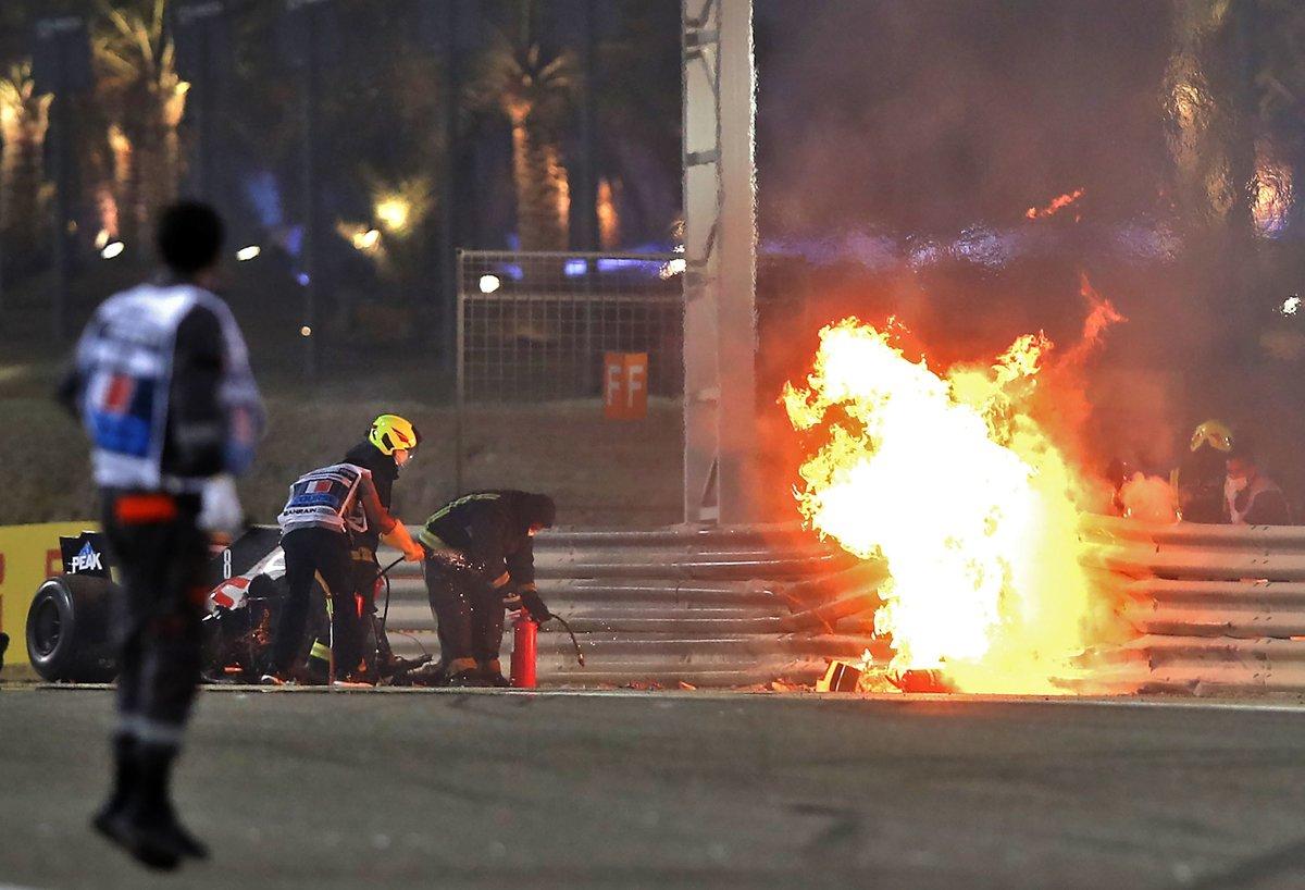 Самый страшный пожар десятилетия в «Формуле-1». Кто виноват