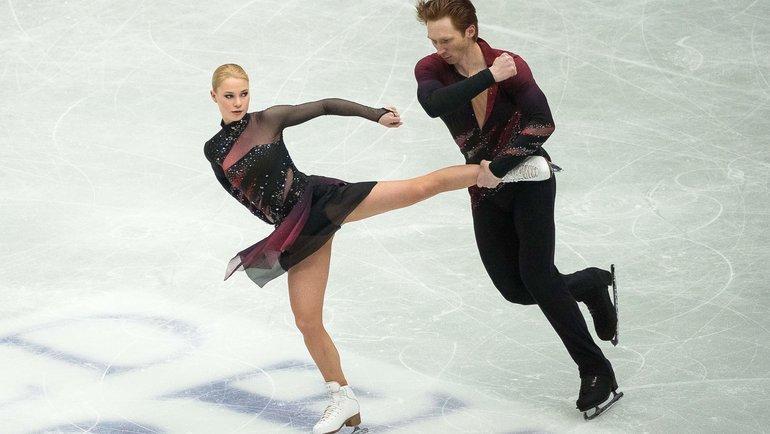 Евгения Тарасова иВладимир Морозов. Фото AFP