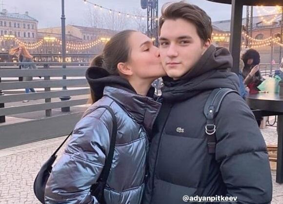 Станислава Константинова иАдьян Питкеев. Фото Instagram