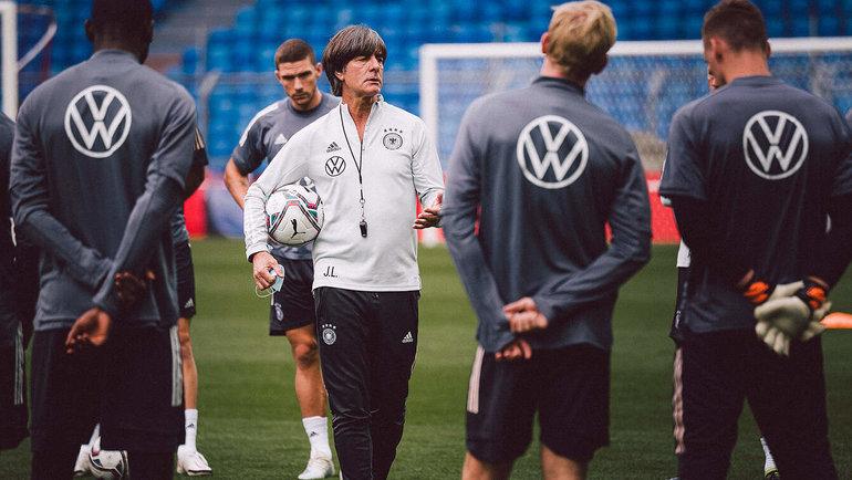 Йоахим Лев. Фото Немецкий футбольный союз
