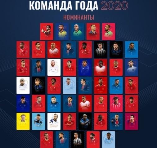 Названы претенденты напопадание вкоманду года УЕФА.