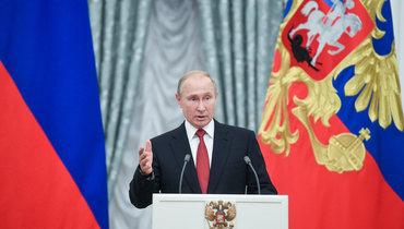 Путин поручил начать массовую вакцинацию откоронавируса наследующей неделе