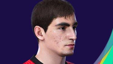 Лицо Бакаева добавили вPES 2021