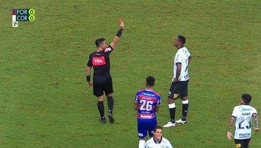 «Форталеза» и «Коринтианс» голов незабили, Жополучил красную карточку