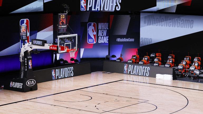 Игровая площадка НБА в Орландо. Фото USA Today Sports