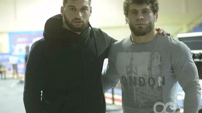 Бабули Цолоев и Алан Багаев. Фото Wrestlingua