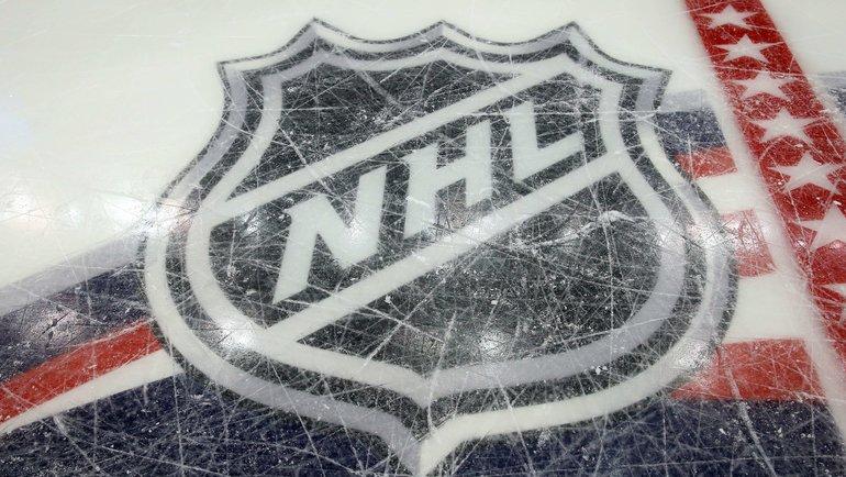 Логотип НХЛ нальду вКоламбусе. Фото AFP