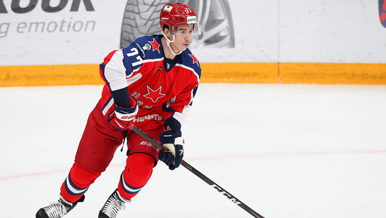 Николай Голдобин. Фото ХКЦСКА