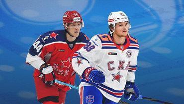 Никита Сошников иМальте Стремвалль.