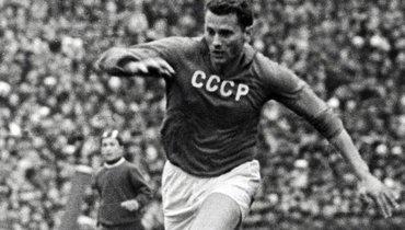 СССР— Югославия: видео победного гола Понедельника вфинале Кубка Европы-1960